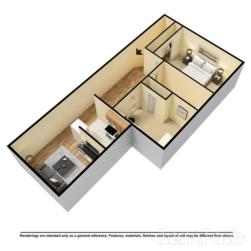 Oxford Towers - 2 Bedroom Apartment